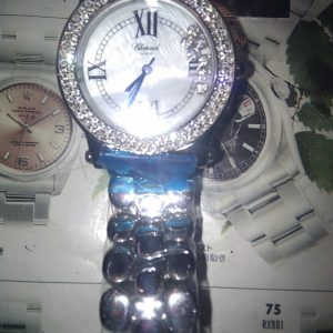 CHOPARD WATCH CIRCLE DIAL WITH DIAMONDS, BUY A CHOPARD WATCH IN BANGKOK THAILAND