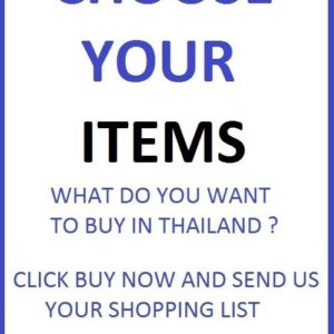 50 PHOTOS OF ANY PRODUCTS SOLD IN BANGKOK
