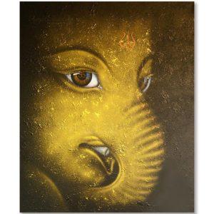Bangkok Painting Contemporary Ganesha Painting