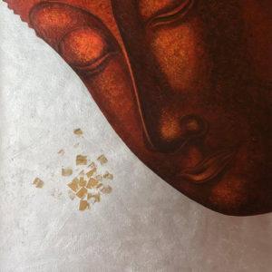 Bangkok Painting Happy Buddha Ancient Thai Painting