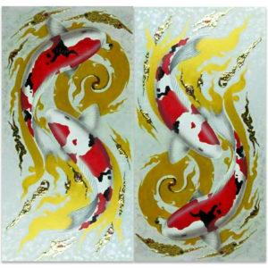 Bangkok Painting Koi Painting